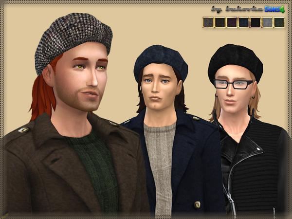 Tweed Cap by bukovka at TSR image 1148 Sims 4 Updates