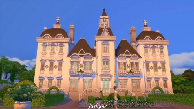Sims 4 VICTORIA Mansion at JarkaD Sims 4 Blog