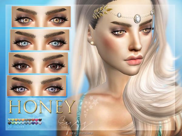 Sims 4 Honey Eyes N44 by Pralinesims at TSR
