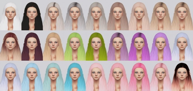 Stealthics Cadence Hair Retexture at Kalewa a image 1201 670x318 Sims 4 Updates