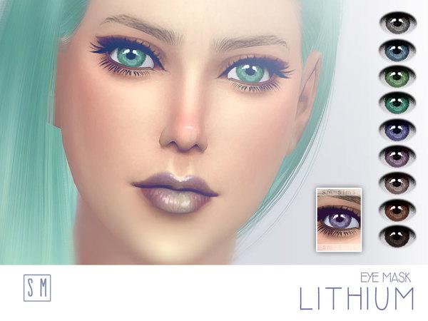 Sims 4 Lithium Eye Mask by Screaming Mustard at TSR