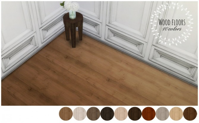 Sims Floor Elevation Cheat : Wood floors at mio sims updates