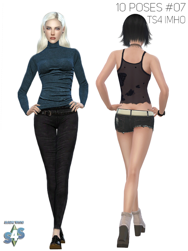 10 Female Poses #07 at IMHO Sims 4 image 1244 Sims 4 Updates