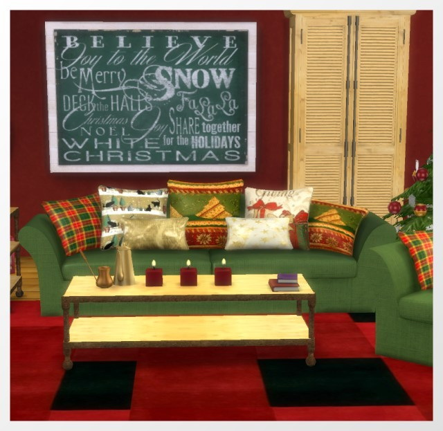 Christmas Room 2015 by Oldbox at All 4 Sims image 1256 Sims 4 Updates