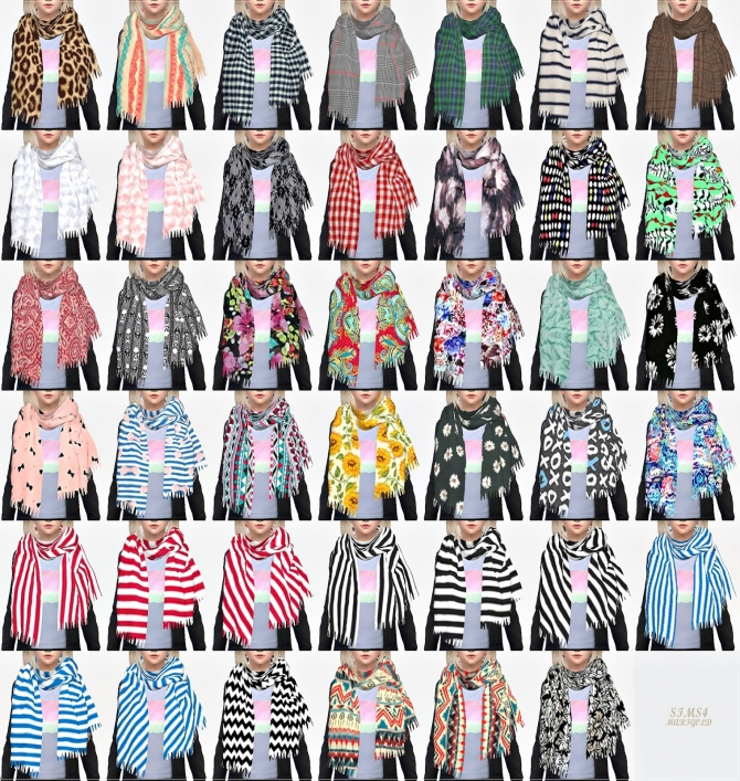 Scarf 187 Sims 4 Updates 187 Best Ts4 Cc Downloads 187 Page 2 Of 6