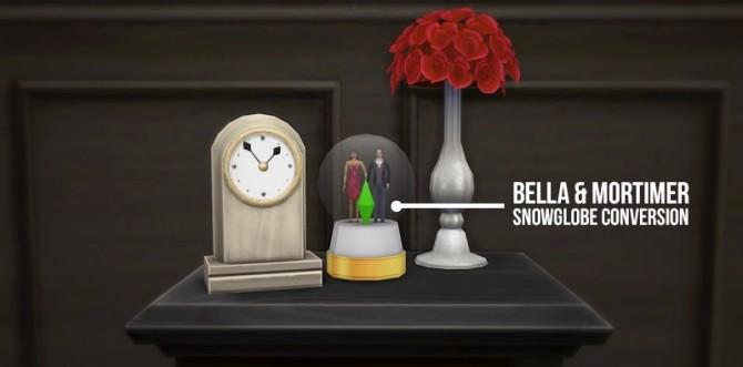 Bella&Mortimer snowglobe conversion at Simserenity image 12610 670x331 Sims 4 Updates