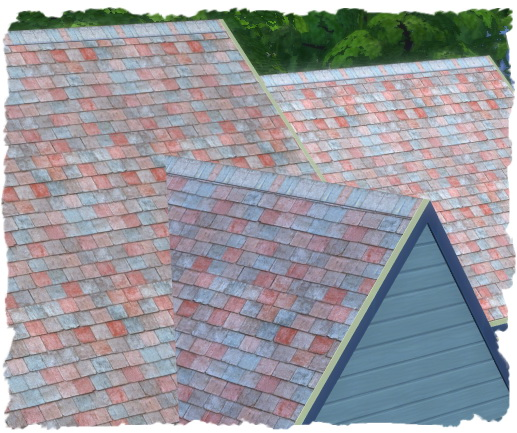 Sims 4 10 tile roofs by Chalipo at All 4 Sims