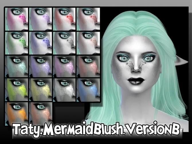 Mermaid blush version B at Taty – Eámanë Palantír image 1268 670x503 Sims 4 Updates