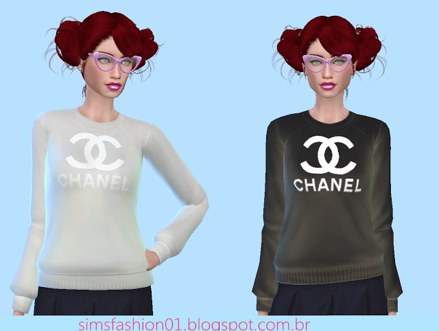 Sims 4 Sweater at Sims Fashion01
