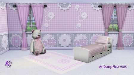 FARANDOLE bedroom by Guardgian at Khany Sims image 12711 Sims 4 Updates