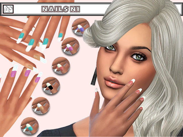 MP Nails N1 at BTB Sims – MartyP image 12714 Sims 4 Updates