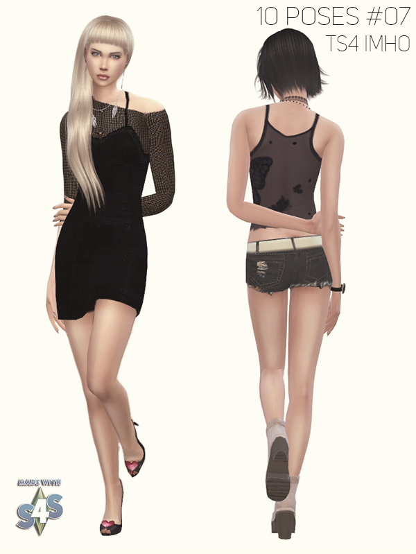10 Female Poses #07 at IMHO Sims 4 image 1272 Sims 4 Updates