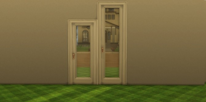 Sims 4 Doors Modified by AdonisPluto at Mod The Sims