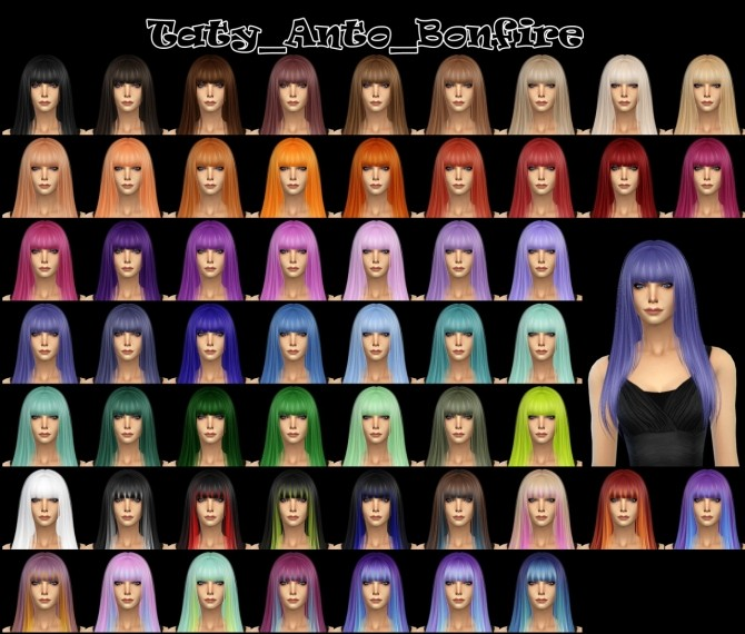 Anto hair recolors at Taty – Eámanë Palantír image 1278 670x570 Sims 4 Updates