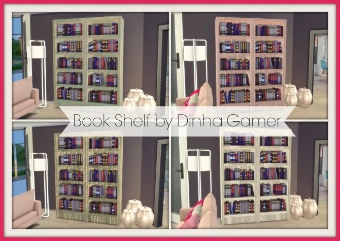 Book Shelf At Dinha Gamer