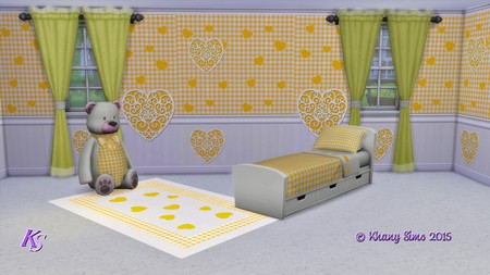 FARANDOLE bedroom by Guardgian at Khany Sims image 13012 Sims 4 Updates