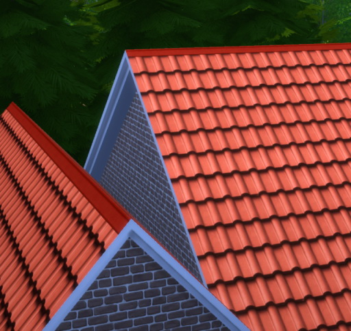 how to build a roof in sims 4