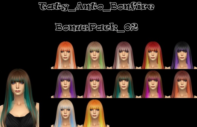 Anto hair recolors at Taty – Eámanë Palantír image 1309 670x434 Sims 4 Updates