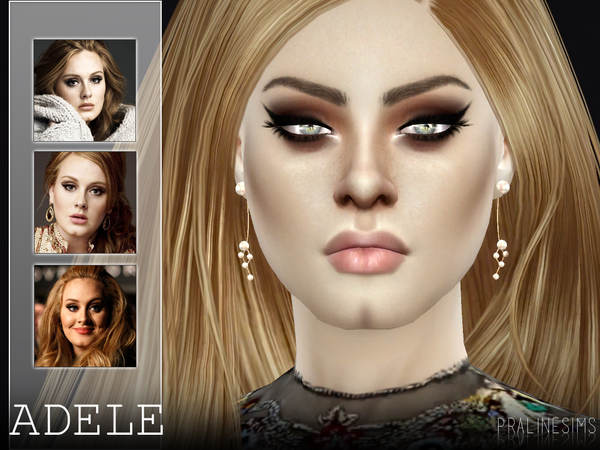 Adele by Pralinesims at TSR image 1312 Sims 4 Updates