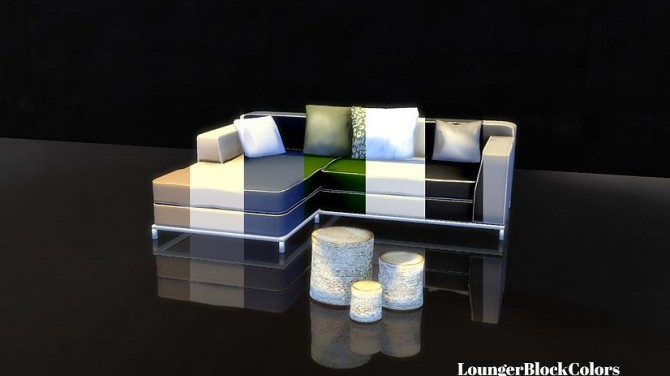 Lounger + Pillows + Table set at Sim o Matic image 13212 670x376 Sims 4 Updates