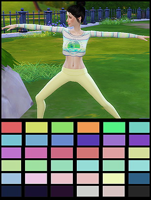 Yoga pants at Gisheld image 137 Sims 4 Updates