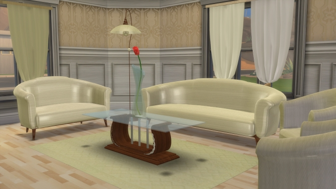 Modena living set by semiramide at the sims lover sims 4 for Kitchen set modena