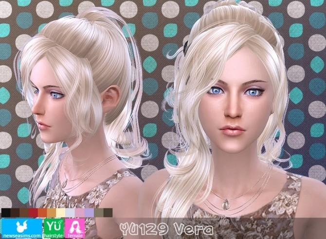 Sims 4 YU129 Vera hair (Pay) at Newsea Sims 4