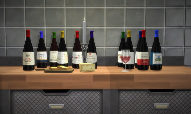 Nectar Bottles At Budgie2budgie 187 Sims 4 Updates