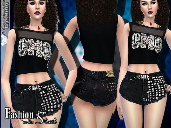 Sims 4 Fashion on the Street Designer Set by Pinkzombiecupcakes at TSR