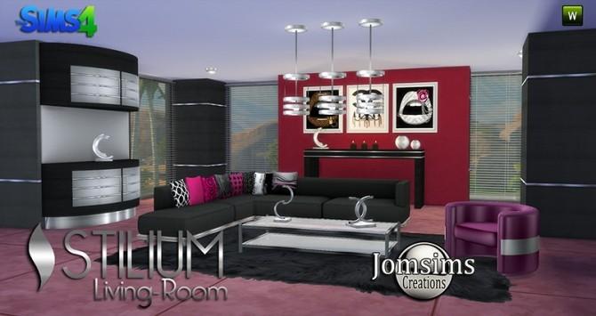 STILIUM livingroom at Jomsims Creations image 142 670x355 Sims 4 Updates