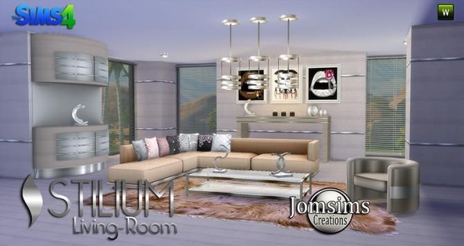 STILIUM livingroom at Jomsims Creations image 143 670x355 Sims 4 Updates