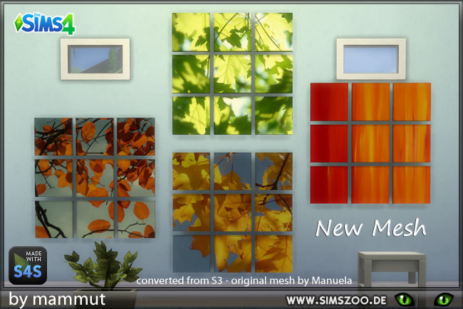 Sims 4 Leaves pictures by Mammut at Blacky's Sims Zoo
