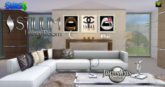 STILIUM livingroom at Jomsims Creations image 144 670x355 Sims 4 Updates