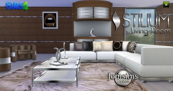 STILIUM livingroom at Jomsims Creations image 145 670x355 Sims 4 Updates