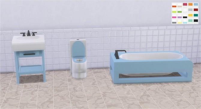 Sims 4 Bayside Bathroom at Veranka