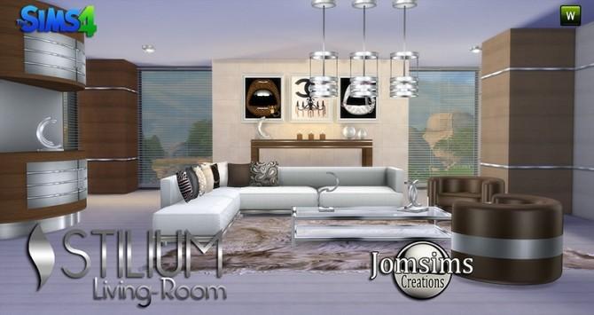 STILIUM livingroom at Jomsims Creations image 146 670x355 Sims 4 Updates