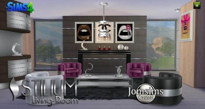 STILIUM livingroom at Jomsims Creations image 149 670x355 Sims 4 Updates