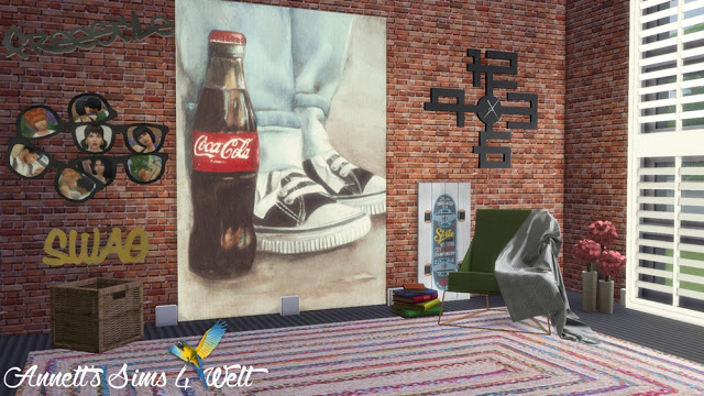 Sneakers Paintings at Annett's Sims 4 Welt image 1502 Sims 4 Updates