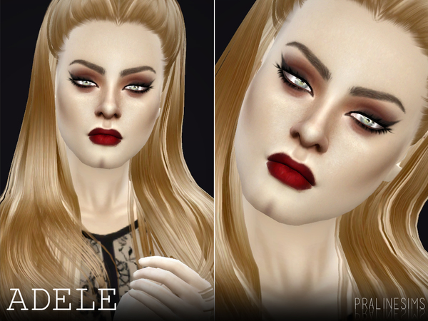 Adele by Pralinesims at TSR image 1510 Sims 4 Updates