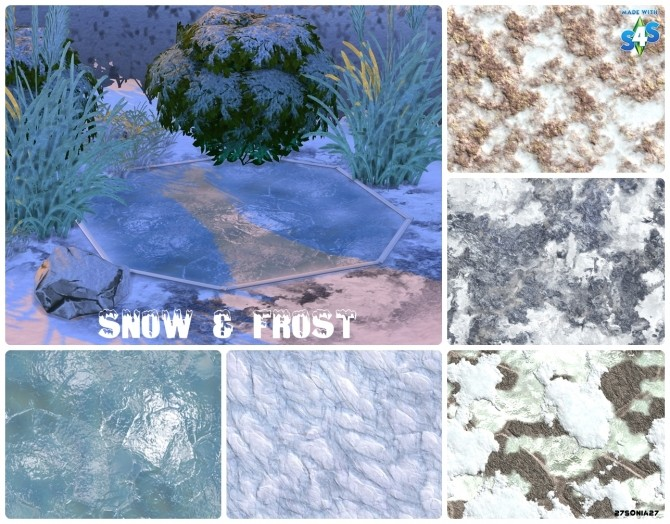 Snow Amp Frost Terrain Paints At 27sonia27 187 Sims 4 Updates