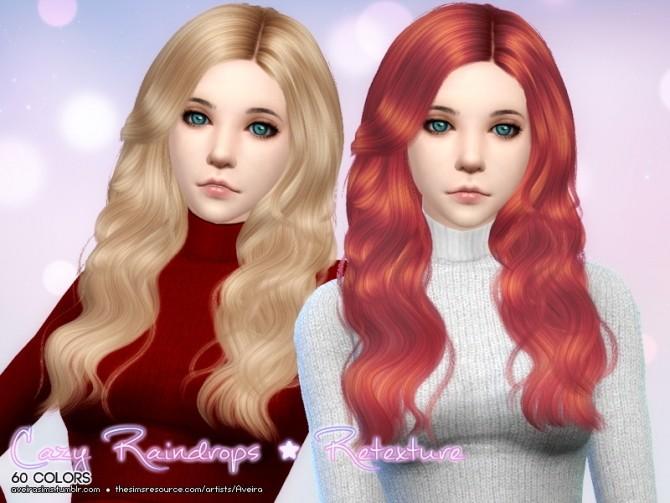 Cazy Raindrops Hair Retexture at Aveira Sims 4 image 1511 670x503 Sims 4 Updates
