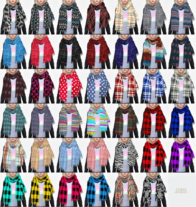 Scarf 187 Sims 4 Updates 187 Best Ts4 Cc Downloads 187 Page 3 Of 7