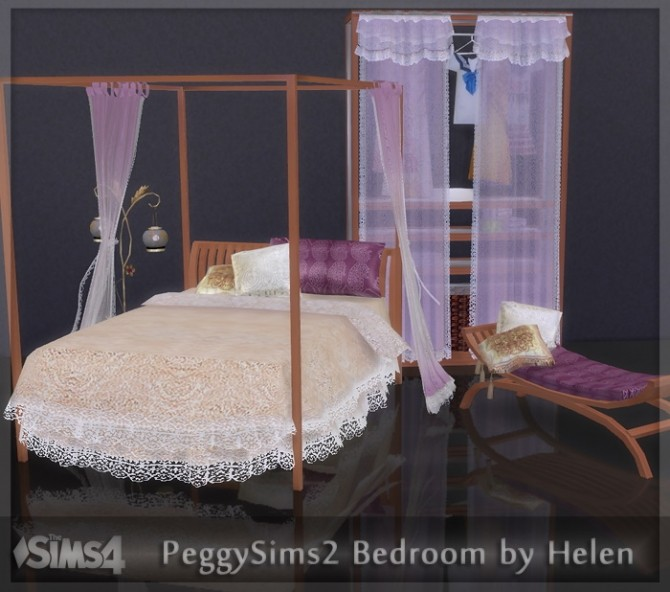 Sims 4 PeggySims2 Bedroom conversion at Helen Sims