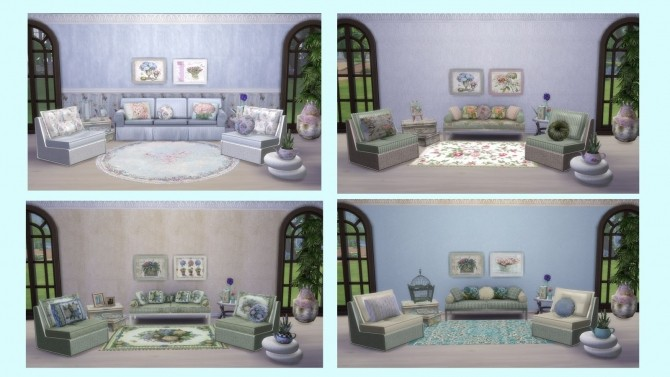 SOHO COLLECTION: walls, pillows and rugs at Alelore Sims Blog image 1562 670x377 Sims 4 Updates