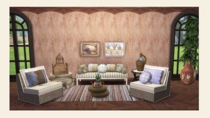 SOHO COLLECTION: walls, pillows and rugs at Alelore Sims Blog image 1573 670x377 Sims 4 Updates