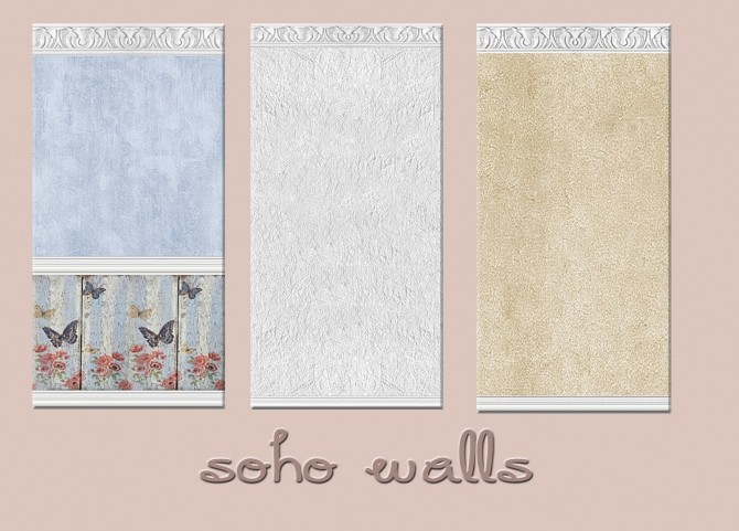 SOHO COLLECTION: walls, pillows and rugs at Alelore Sims Blog image 1582 670x481 Sims 4 Updates