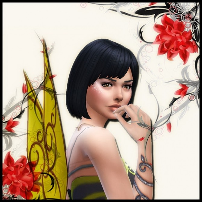 La Fée Gnante (The Lazy fairy) by Mich Utopia at Sims 4 Passions image 1600 670x670 Sims 4 Updates