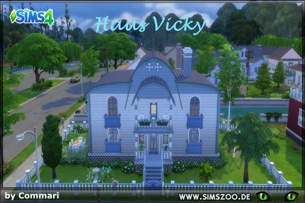 Vicky house by Commari at Blacky's Sims Zoo image 1602 Sims 4 Updates