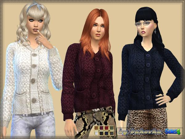 Sims 4 Jacket Braids by bukovka at TSR