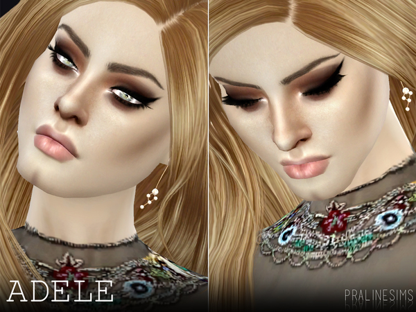 Adele by Pralinesims at TSR image 1612 Sims 4 Updates